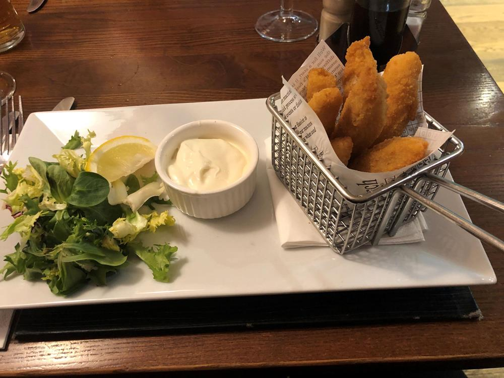 Lemon Sole Goujons